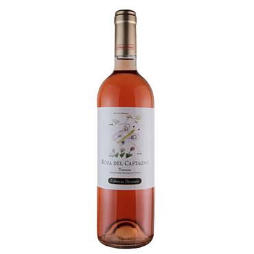 rosa del castagno syrah toscano igt rosso vino rosato fabrizio dionisio 2018 - Vini Rosati